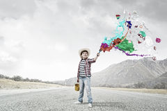 Colorful childhood Royalty Free Stock Photo