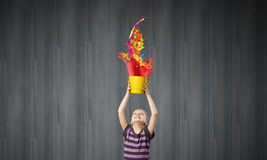 Colorful childhood! Royalty Free Stock Photo