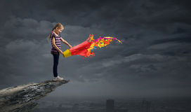 Colorful childhood! Royalty Free Stock Images