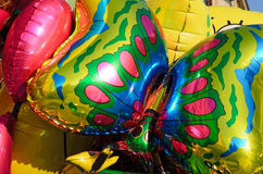Colorful children baloons Royalty Free Stock Photography