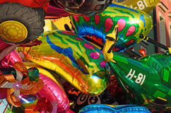 Colorful children baloons Royalty Free Stock Photo