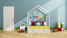 Colorful children bedroom Royalty Free Stock Image