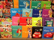 Colorful Children Books Royalty Free Stock Photos