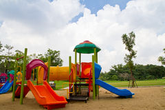 Colorful children playground Royalty Free Stock Photo