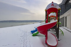 Colorful children playground Royalty Free Stock Photos