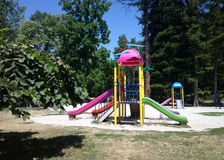 Colorful children playground Royalty Free Stock Image