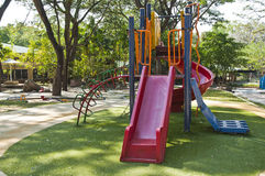 Colorful children playground. Royalty Free Stock Photo