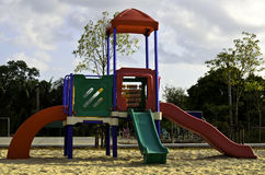 Colorful children playground Royalty Free Stock Images
