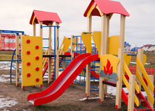 Colorful children playground Stock Photography