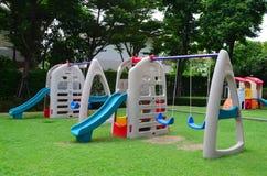 Colorful Children Playground Stock Photo