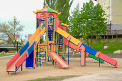 Colorful children playground Royalty Free Stock Photography