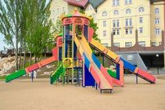 Colorful children playground Stock Image