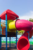 Colorful children playground Stock Photos
