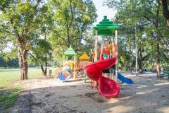 Colorful children playground Stock Photos