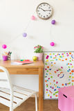 Colorful children room Stock Image