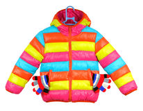 Colorful children's jacket Royalty Free Stock Photography