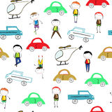 Colorful children`s pattern Stock Image