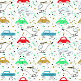 Colorful children`s pattern Stock Photo