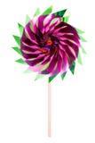 Colorful children's pinwheel Royalty Free Stock Photos