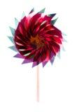 Colorful children's pinwheel Royalty Free Stock Image