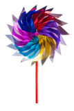 Colorful children's pinwheel Stock Photography