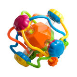 Colorful children's plastic toy Stock Images