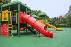Colorful children's play equipment Royalty Free Stock Photography