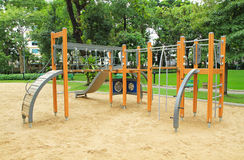 Colorful children's playground Royalty Free Stock Photos