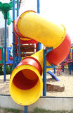 Colorful children's playground in suburban area Royalty Free Stock Images