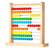 Colorful childrens abacus Royalty Free Stock Photos