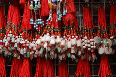 Colorful Chinese charms Stock Photography