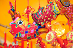 Colorful Chinese Decorations Royalty Free Stock Photo