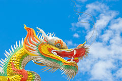 Colorful Chinese dragon Royalty Free Stock Photos