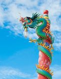 Colorful chinese dragon Royalty Free Stock Photography