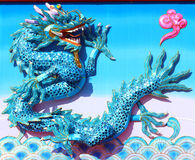 Colorful Chinese Dragon – celebration New Year Royalty Free Stock Photo