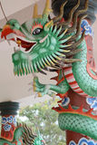 Colorful chinese dragon Stock Photos