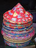 Colorful Chinese Farmer Hats Royalty Free Stock Photo