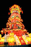 Colorful chinese lantern Royalty Free Stock Image