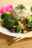 Colorful chinese meal Stock Photography