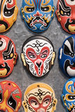 Colorful Chinese souvenirs. Souvenirs inspired on the Beijing Opera characters Stock Images
