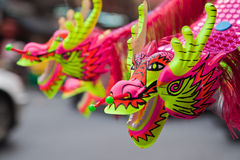 Colorful Chinese style dragon toy Royalty Free Stock Photography