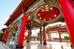Colorful chinese temple Stock Images