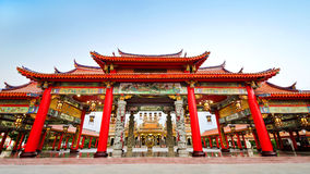 Colorful chinese temple Royalty Free Stock Image