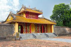 Chinese temple in Hue Vietnam royalty free stock photography