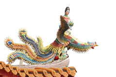 Colorful chinese temple roof Stock Photography