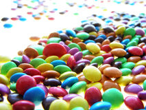 Colorful chocolate candies Royalty Free Stock Image