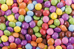 Colorful chocolate candies Stock Images