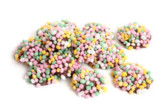 Colorful chocolate candies Stock Photos
