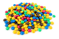 Colorful chocolate candy Royalty Free Stock Images