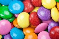 Colorful Chocolate Candy Royalty Free Stock Photo